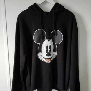 Mickey Mouse Cropped Sweater